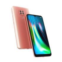 "Smartphone Moto G9 Play, 64GB, Tela 6.5"", Câmera Traseira 48MP+2MP+2MP, Rosa  MOTOROLA"