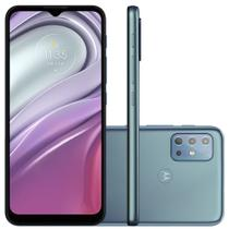 Smartphone Motorola G20 64GB, 4GB RAM, Octa-Core, Câmera Quadrupla, 5000mAh, Azul - PANG0000BR