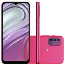 Smartphone Motorola G20 64GB, 4GB RAM, Octa-Core, Câmera Quadrupla, 5000mAh, Pink - PANG0041BR
