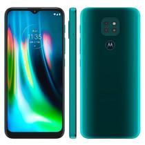 Smartphone Motorola G9 Play Tela 6.5 Polegadas Full HD 64GB Câmera Tripla Traseira 4GB RAM