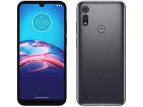 "Smartphone Motorola Moto E6i 32GB Cinza Titanium - 4G 2GB RAM Tela 6,1"" Câm. Dupla + Selfie 5MP"