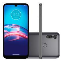 Smartphone Motorola Moto E6i 4G, 32GB, RAM 2GB, Octa-Core, Câmera 13MP, 3000mAh, Cinza Titanium  - PANC0000BR
