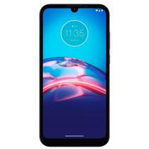 "Smartphone Motorola Moto E6I Cinza Titânio,Tela de 6.1"",4G+Wi-Fi,And.10, Cãm.Tras.13+2MP,Frontal de 5MP,2GB RAM, 32GB"