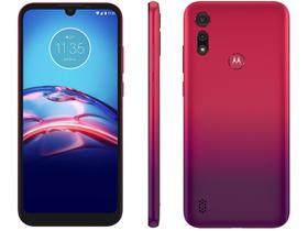 Smartphone Motorola Moto E6S 64GB Vermelho Magenta