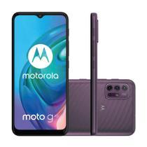 "Smartphone Motorola Moto G10 64GB 4GB RAM  Câmera Quádrupla 48MP Tela 6.5"" - Cinza Aurora"