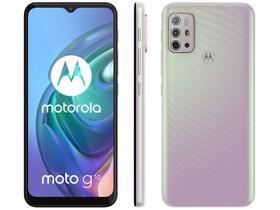 Smartphone Motorola Moto G10 64GB Branco Floral