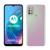 "Smartphone Motorola Moto G10, Branco Floral, Tela 6.5"", 64GB, Câmera Quádrupla 48MP+8MP+2MP+2MP"