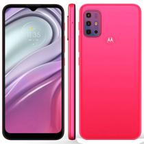 "Smartphone Motorola Moto G20 64GB 4G Tela 6.5"" Câmera Quádupla 48MP 8MP 2MP 2MP Frontal 13MP Pink"