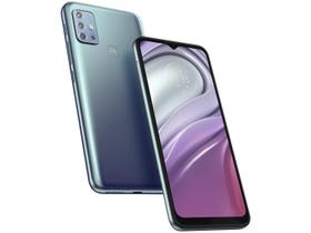 "Smartphone Motorola Moto G20 64GB Azul 4G - 4GB RAM Tela 6,5"" Câm. Quádrupla + Selfie 13MP"
