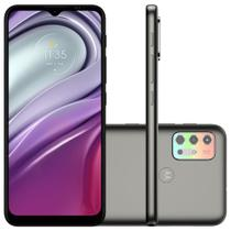 "Smartphone Motorola Moto G20 64GB Tela 6.5"" Câmera Quádupla 48MP 8MP 2MP 2MP Frontal 13MP Grafite"