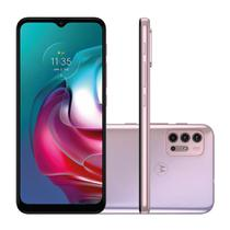 "Smartphone Motorola Moto G30 128GB 4GB RAM  Câmera Quádrupla 13MP Tela 6.5"" -White Lilac"