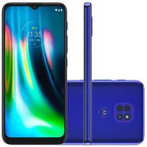 Smartphone Motorola Moto G9 Play, 64GB, 48MP, Tela 6.5, Azul Safira + Capa Protetora - XT2083-1