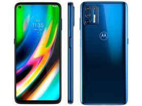 "Smartphone Motorola Moto G9 Plus 128GB Azul Indigo - Octa-Core 4GB RAM 6,8"" Câm. Quádrupla+Selfie 16"