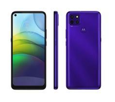 "Smartphone Motorola Moto G9 Power 64GB - Purple 4G 4GB RAM Tela 6,8"" Câm. Tripla"