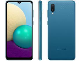 Smartphone Samsung Galaxy A02 32GB Azul 4G