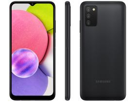 Smartphone Samsung Galaxy A03s 64GB Preto 4G