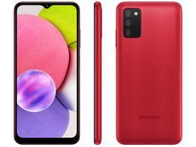 Smartphone Samsung Galaxy A03s 64GB Vermelho 4G