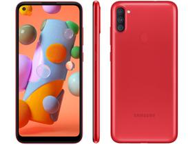 Smartphone Samsung Galaxy A11 64GB Vermelho 4G