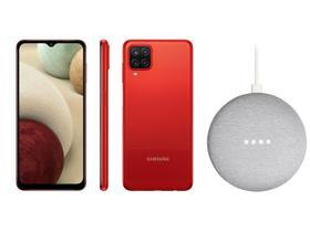 Smartphone Samsung Galaxy A12 64GB Vermelho 4G