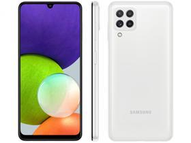 Smartphone Samsung Galaxy A22 128GB Branco 4G