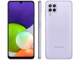 Smartphone Samsung Galaxy A22 128GB Violeta 4G