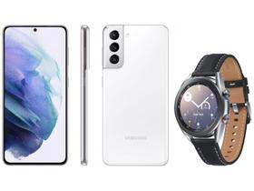 Smartphone Samsung Galaxy S21 128GB Branco 5G