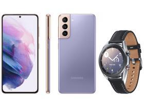 Smartphone Samsung Galaxy S21 128GB Violeta 5G