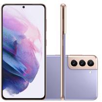 "Smartphone Samsung Galaxy S21 Plus Tela Infinita de 6.7"" 256GB 8GB RAM Câmera Tripla Violeta"