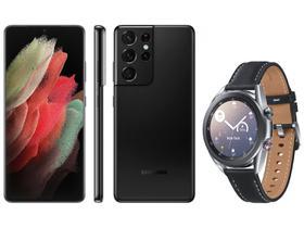 Smartphone Samsung Galaxy S21 Ultra 256GB Preto 5G