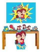 Super Kit Maria Clara E Jp Decoração Totem Displays + Painel