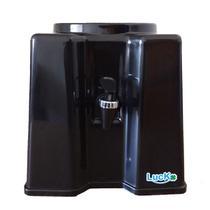 Suporte Para Galão De Água Mineral Filtro Plástico Garrafão De 10 E 20 litros Preto