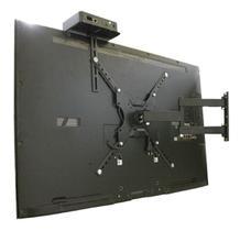 """Suporte para TV LED, LCD, Smart, 4K de 23 a 55"""" Articulado + Prateleira para conversor - CS0040ASC"""