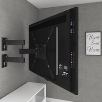 Suporte Tv Tri-Articulado Multivisão Samsung-lg-sony M3 Preto 14 a 58 polegadas