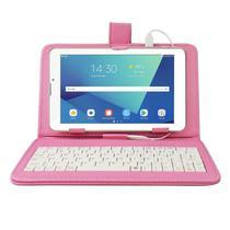 Tablet Multilaser M7 32GB, Android 11, Dual Chip 3G, Função Celular NB361 + Capa Teclado