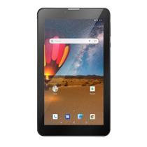 """Tablet Multilaser M7 3G Plus 7"""" Polegadas Android 8.1 16GB Dual Cam Quad Core 1GB RAM NB304 Preto"""
