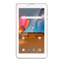 Tablet Multilaser M7 3g Plus Dual Chip Quad Core 1 Gb de Ram Memória 16 Gb Tela 7 Polegadas Rosa Nb305