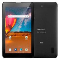 Tablet Multilaser M7S Plus, Bluetooth, Android 8.1, 16GB + 16GB com Cartão Micro SD, 2MP, Tela de 7, Preto - NB312