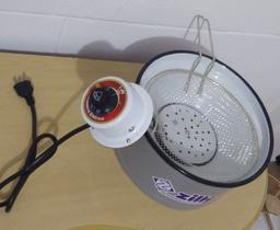 Tacho fritador elétrico de 3 litros