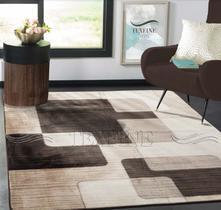 Tapete aveludado para sala flannel  2,0 x 1,4 estampas geométricas coleção 2021 - mtm enxovais