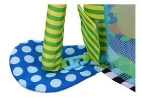 Tapete de Atividades com Cercado e Piscina Bolinha Tartaruga - Color Baby