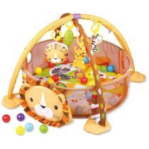 Tapete de Atividades Piscina De Bolinhas - Leão - Baby Style