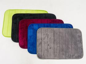 Tapete de Banheiro Fofo microfibra 40 x 60 cm diversas cores