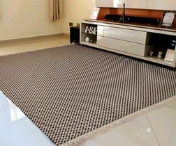 Tapete grande sala / quarto 100% algodão antialérgico 2,00m x 1,40m