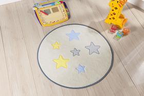 Tapete Infantil Para Quarto Estrela Palha