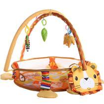 Tapete Piscina De Bolinhas Infantil 3 Em 1 Para Bebe Leão