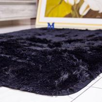 tapete sala 2,00x1,50 shaggy felpudo de luxo macio black friday