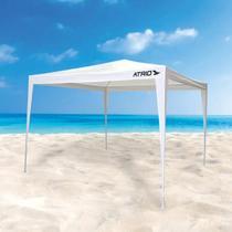 Tenda Gazebo Desmontável Aço em Polietileno 3x3 Praia Piscina Camping