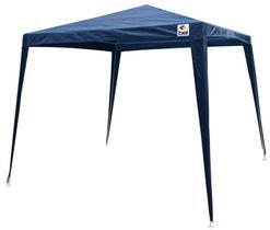 Tenda Gazebo Praia Camping 3X3 Poliester Azul Belfix