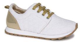 Tênis Infantil Diversão Runner Sugar Shoes Cor Branco - N33