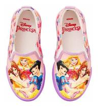 Tênis Infantil Iate Feminino Princesas Disney Sugar Shoes - N31